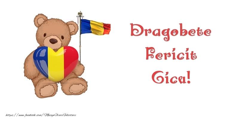 Felicitari de Dragobete - Dragobete Fericit Gicu!