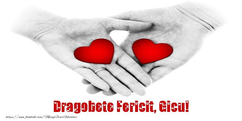 Felicitari de Dragobete - Dragobete Fericit, Gicu!