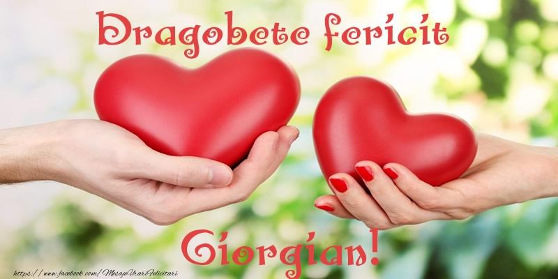 Felicitari de Dragobete - Dragobete fericit Giorgian!