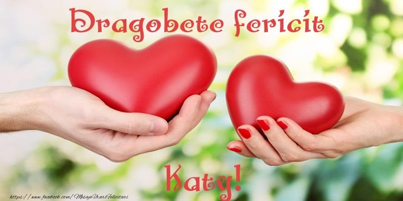 Felicitari de Dragobete - Dragobete fericit Katy!