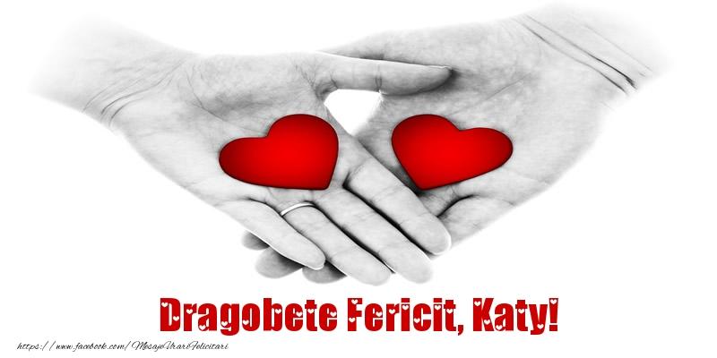 Felicitari de Dragobete - Dragobete Fericit, Katy!