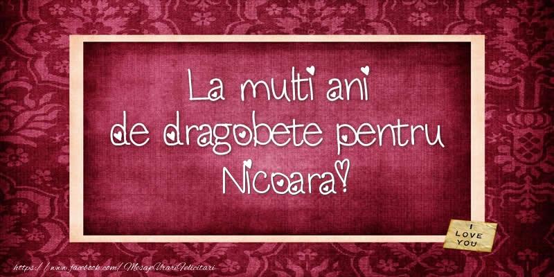 Felicitari de Dragobete - La multi ani de dragobete pentru Nicoara!