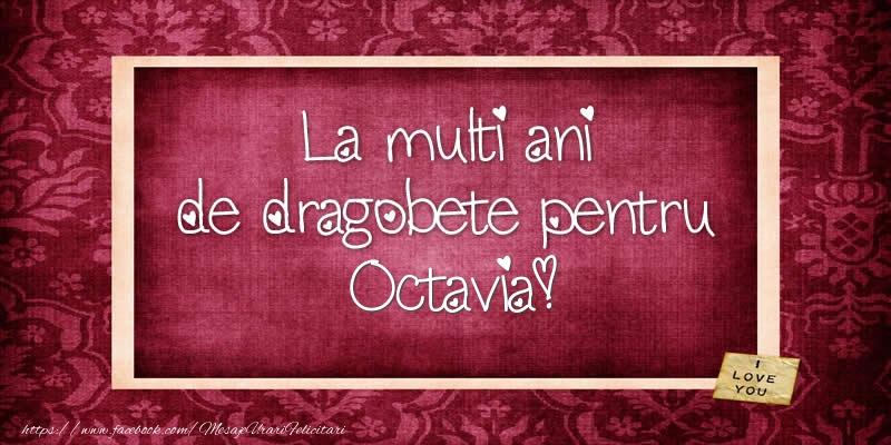 Felicitari de Dragobete - La multi ani de dragobete pentru Octavia!