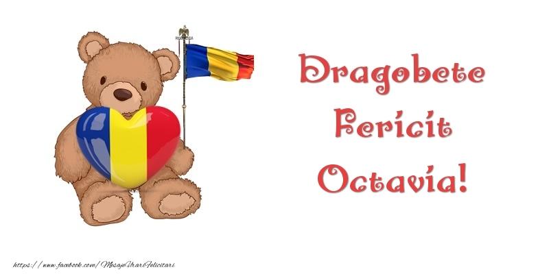 Felicitari de Dragobete - Dragobete Fericit Octavia!