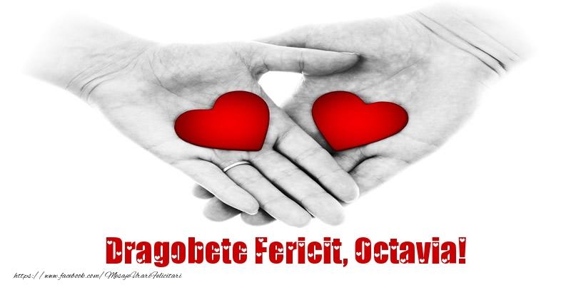 Felicitari de Dragobete - Dragobete Fericit, Octavia!