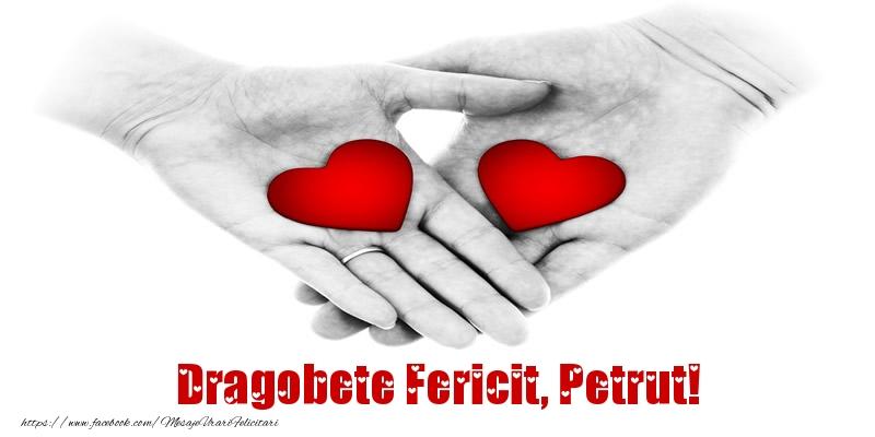 Felicitari de Dragobete - Dragobete Fericit, Petrut!