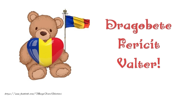 Felicitari de Dragobete - Dragobete Fericit Valter!