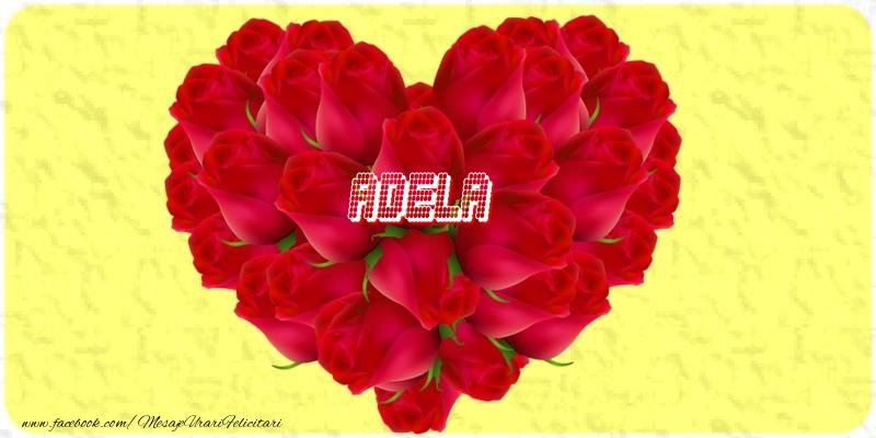 Felicitari de dragoste - Adela