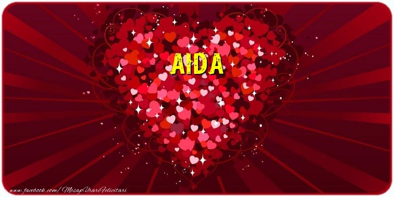 Felicitari de dragoste - Aida