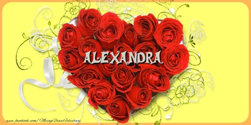 Felicitari de dragoste - Alexandra