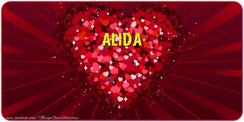 Felicitari de dragoste - Alida