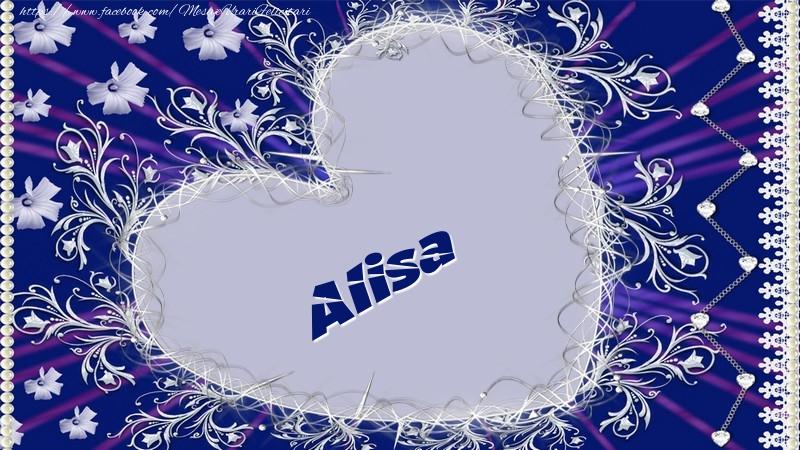 Felicitari de dragoste - Alisa