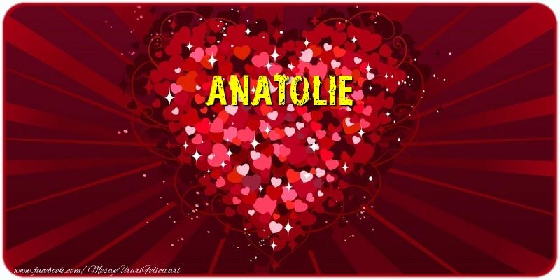 Felicitari de dragoste - Anatolie