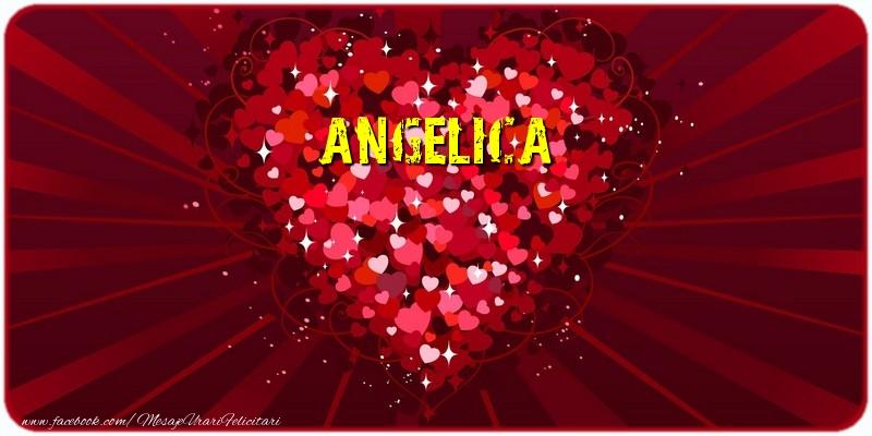 Felicitari de dragoste - Angelica