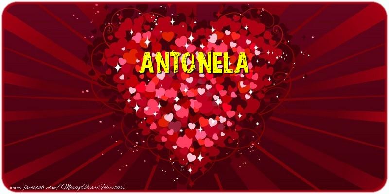 Felicitari de dragoste - Antonela