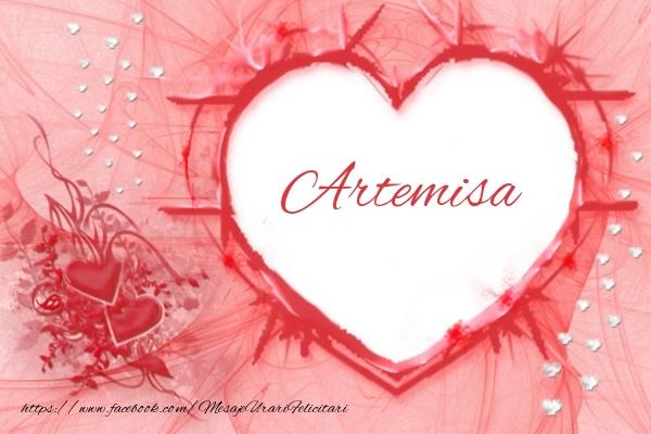 Felicitari de dragoste - Love Artemisa