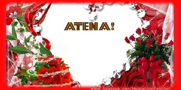 Felicitari de dragoste - Love Atena!