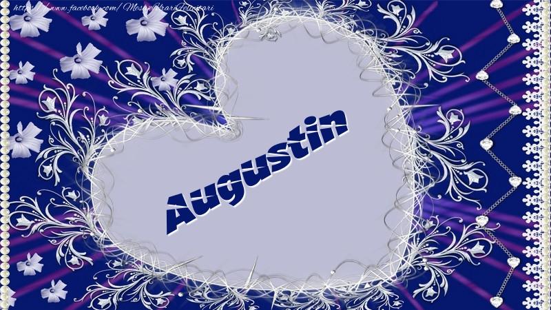 Felicitari de dragoste - Augustin