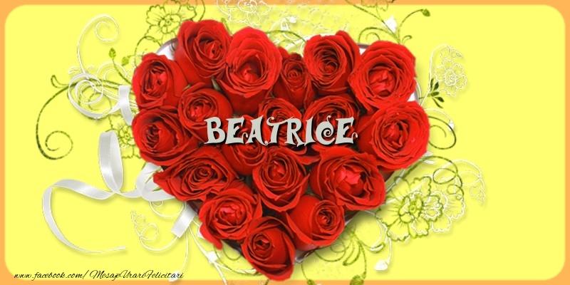 Felicitari de dragoste - Beatrice
