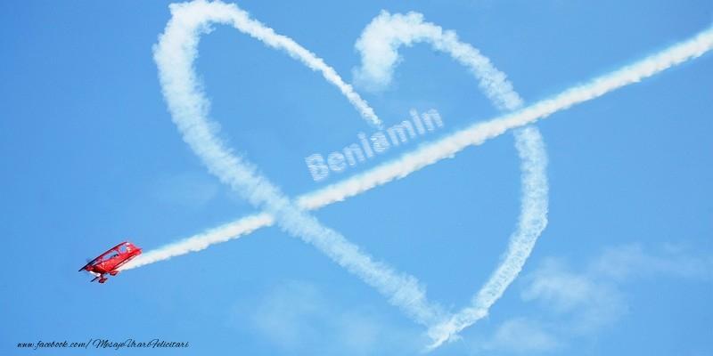 Felicitari de dragoste - Beniamin