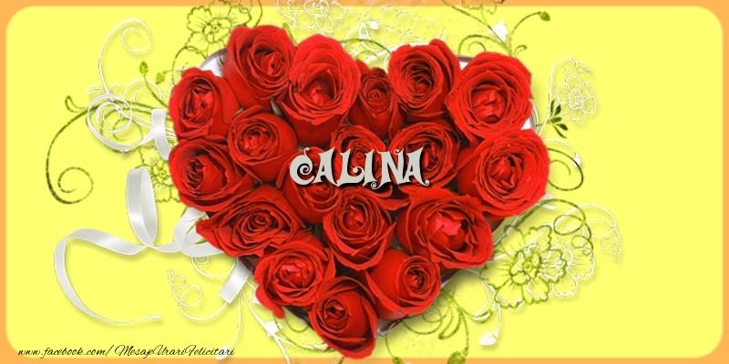 Felicitari de dragoste - Calina