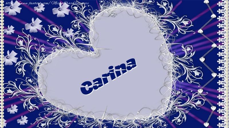 Felicitari de dragoste - Carina