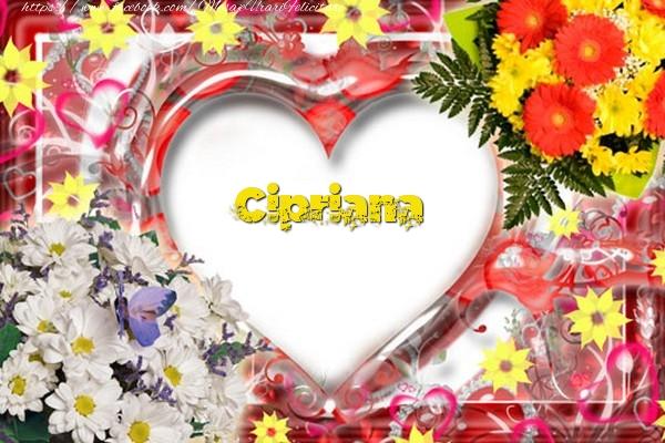 Felicitari de dragoste - Cipriana