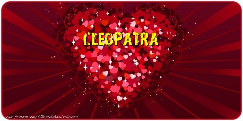 Felicitari de dragoste - Cleopatra