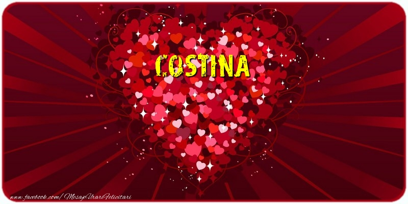 Felicitari de dragoste - Costina
