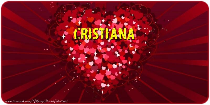 Felicitari de dragoste - Cristiana