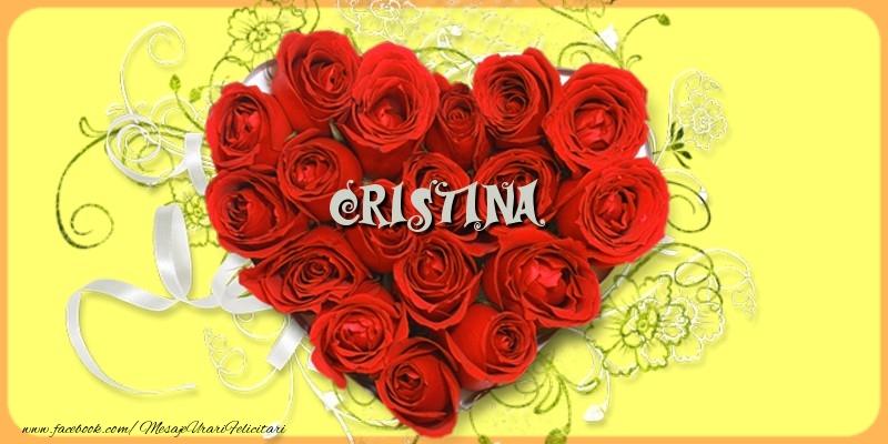 Felicitari de dragoste - Cristina