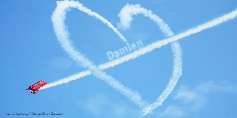 Felicitari de dragoste - Damian