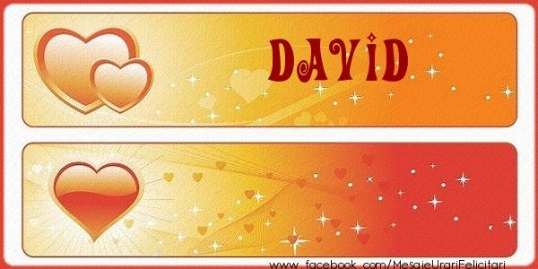 Felicitari de dragoste - Love David