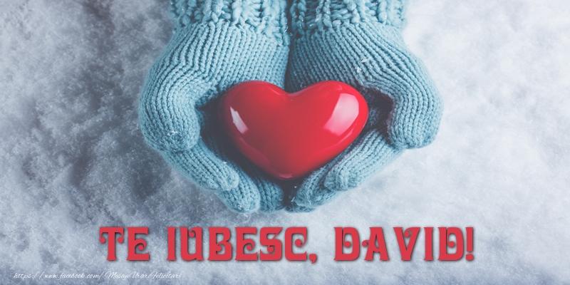 Felicitari de dragoste - TE IUBESC, David!