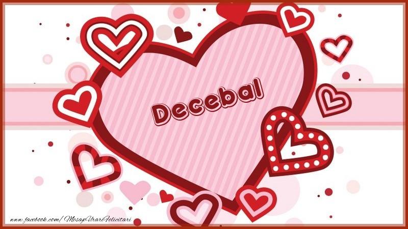 Felicitari de dragoste - Decebal