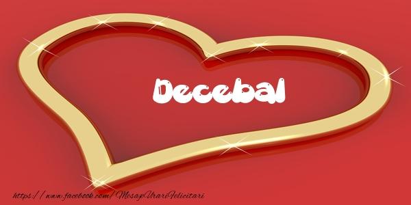 Felicitari de dragoste - Love Decebal
