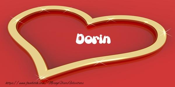 Felicitari de dragoste - Dorin Iti dau inima mea