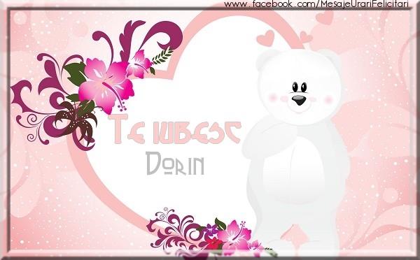 Felicitari de dragoste - Te iubesc Dorin