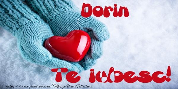 Felicitari de dragoste - Dorin Te iubesc!