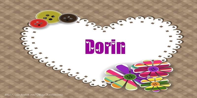 Felicitari de dragoste - Pentru Dorin din inima