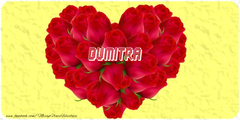 Felicitari de dragoste - Dumitra