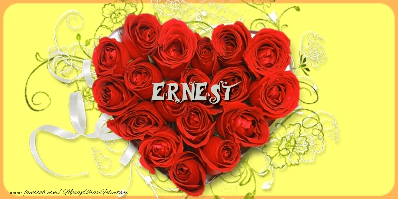 Felicitari de dragoste - Ernest