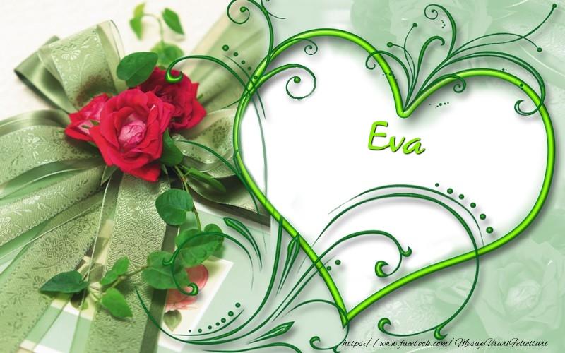 Felicitari de dragoste - Eva