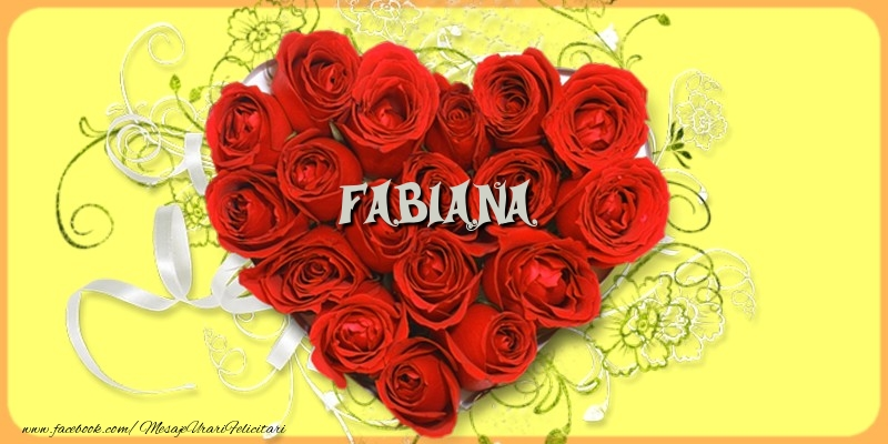 Felicitari de dragoste - Fabiana
