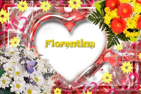Felicitari de dragoste - Florentina