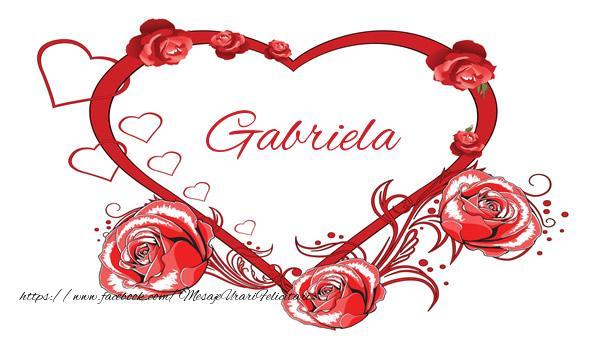 Felicitari de dragoste - Love  Gabriela