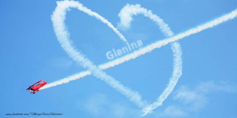 Felicitari de dragoste - Gianina