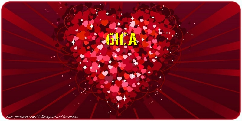 Felicitari de dragoste - Gica
