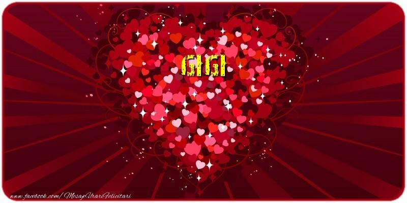 Felicitari de dragoste - Gigi