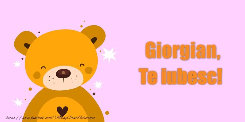 Felicitari de dragoste - Giorgian Te iubesc!